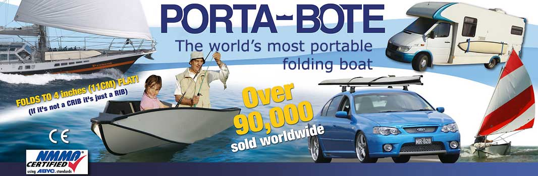 Porta-Bote - The world's most portable folding boat.